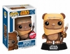 Funko Pop Star Wars Vinyl 26 Wicket Flocked Variant Bobblehead