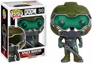 Funko Pop Vinyl Games Doom Space Marine Figure