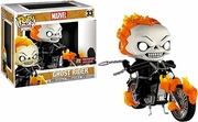 Funko Pop Vinyl Rides Marvel Ghost Rider Figure
