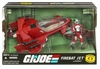 G.I. Joe 25th Anniversary Firebat Jet with AVAC Vehicle