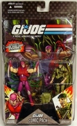 G.I. Joe 25th Anniversary Nemesis Immortal & Lt. Falcon Comic Pack