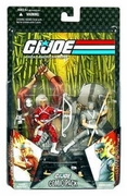 G.I. Joe 25th Anniversary Snake Eyes & Hard Master Comic Pack