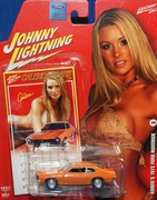 Johnny Lightning 2007 Calendar Girls Amber 1972 Ford Maverick Car