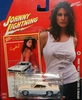 Johnny Lightning 2007 Calendar Girls Crystal 1969 Pontiac GTO Car