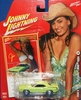 Johnny Lightning 2007 Calendar Girls Josie 1970 Plymouth Hemi Cuda Car