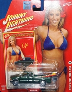 Johnny Lightning 2007 Calendar Girls Kylei 2001 Ford F-250 Truck