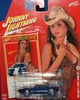 Johnny Lightning 2007 Calendar Girls Melanie 2005 Ford GT Car