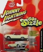 Johnny Lightning 60's Sizzle 1962 Lincoln Continental Convertible Car