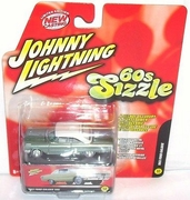 Johnny Lightning 60's Sizzle 1963 Ford Galaxie Car