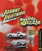 Johnny Lightning 60's Sizzle 1965 Shelby Cobra Daytona Coupe Car