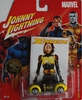 Johnny Lightning Marvel X-Men Rogue 2001 Volkswagen New Beetle Car