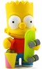 Kidrobot Simpsons Mini Bart Simpsons Figure