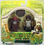 Lord of the Rings Minimates Grishnakh & Orc Scout Set
