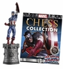 Marvel Chess Collection White King Captain America Magazine #6