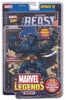 Marvel Legends Series 4 Beast with Comic Book Action Figure
