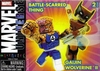 Marvel Minimates Battle-Scarred Thing & Gaijin Wolverine Figure Set