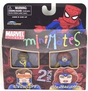 Marvel Minimates Series 34 90s X-Men Cyclops and Jean Grey Set
