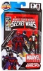 Marvel Universe Secret Wars Magneto and Black Costume Spider-Man
