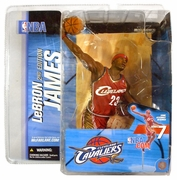 McFarlane NBA Series 7 LeBron James Figure
