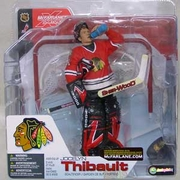 McFarlane NHL Series 4 Chicago Blackhawks Jocelyn Thibault Figure