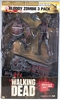 McFarlane The Walking Dead Bloody Zombie 3 Pack