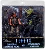 NECA Aliens Hicks v Battle Damaged Xenomorph Warrior Alien 2-Pack