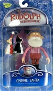 Rudolph the Red-Nosed Reindeer Casual Santa Figure