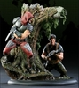 Sideshow Collectibles G.I. Joe Flint vs. Zartan Polystone Diorama
