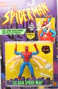 Spider-Man Animated Series Six Arm Spider-Man Figure