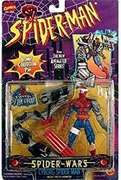 Spider-Man Animated Series Spider Wars Cyborg Spider-Man Figure