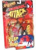 Spider-Man Sneak Attack Flip N Trap Web Catcher Spidey Figure