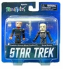 Star Trek Minimates First Contact Picard & Borg Queen Set