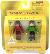 Star Trek Minimates Space Seed Khan & Kirk Set