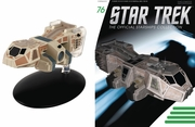 Star Trek Ship Collection Magazine 76 Neelixs Ship Baxial