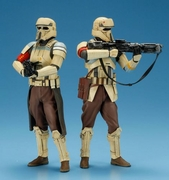 Star Wars ARTFX+ Rogue One Scarif Stormtrooper Statue 2-Pack