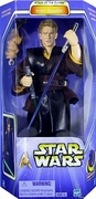 Star Wars Attack of the Clones Lightsaber Slashing Anakin Skywalker Figure