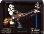 Star Wars Black Series Speeder Bike & Scout Trooper Box Set