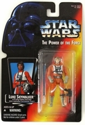 Star Wars Power of the Force Luke Skywalker X-Wing Fighter Pilot Figure