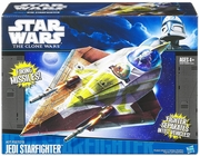 Star Wars The Clone Wars Kit Fisto Jedi Starfighter Vehicle