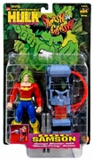 The Incredible Hulk Smash and Crash Doc Samson Figure