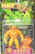 The Incredible Hulk Smash and Crash Zzzax Figure