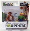 The Muppets Minimates Fozzy Bear and Scooter Figure Set
