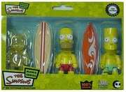 The Simpsons 3-Inch Qee 2008 SDCC Exclusive 3-Pack