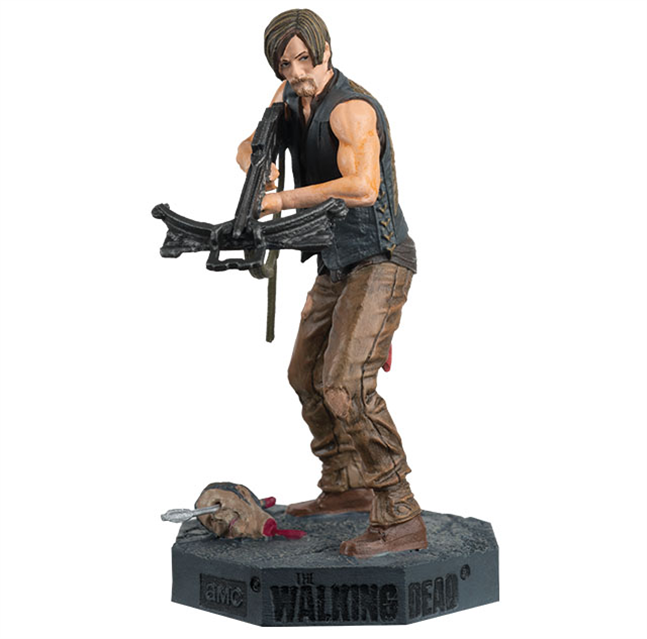 the walking dead collection daryl dixon figurine. Black Bedroom Furniture Sets. Home Design Ideas