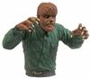 Universal Monsters Wolfman Bust Coin Bank