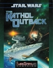 West End Games Star Wars DarkStryder Campaign The Kathol Outback RPG Book