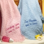 100% Cotton Baby Blanket - Personalized - click to Enlarge