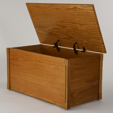 100%  Real Wood Toy Chest