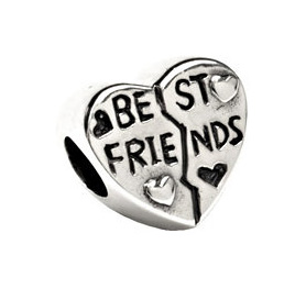 11mm Kera™ Best Friend Heart Bead
