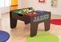 2 in 1 Activity Table with Board Espresso - click to Enlarge